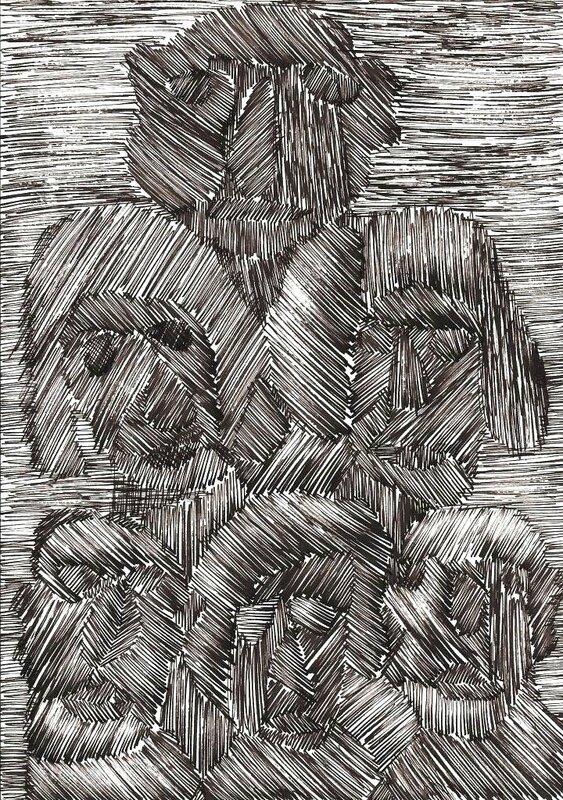 SENDREY Six visages 1992 29,6 x 20,9