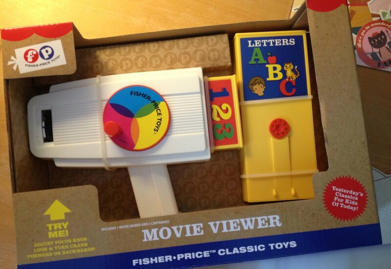 camera réédition Fisher price