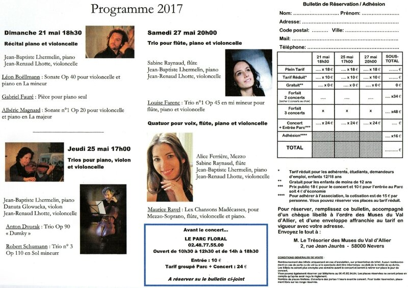 Flyers bulletins 2017