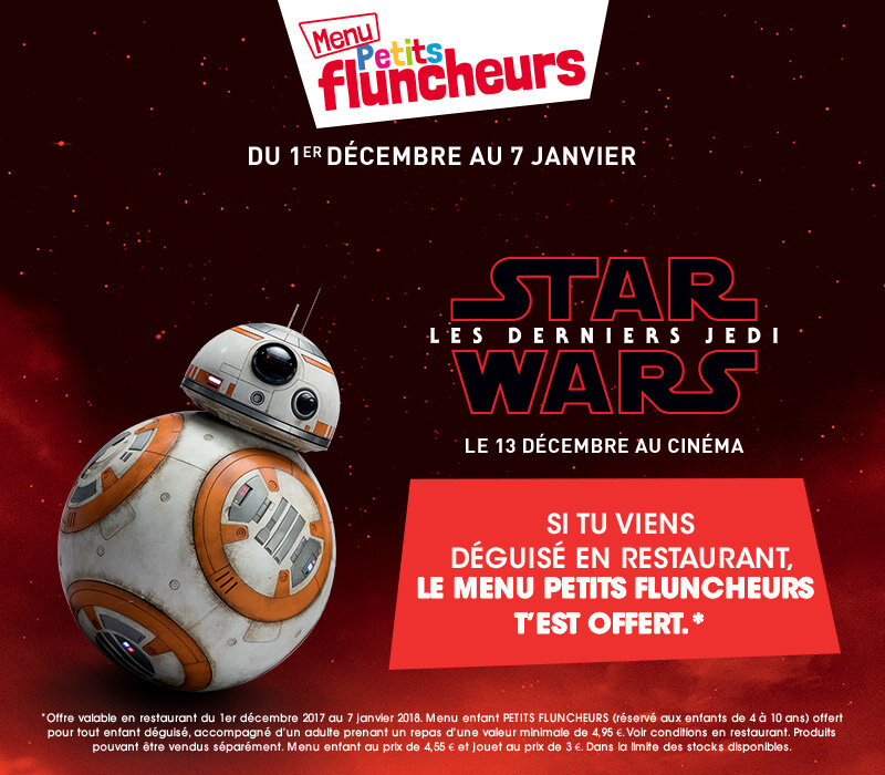 menu petit fluncheur offert star wars lilousshark