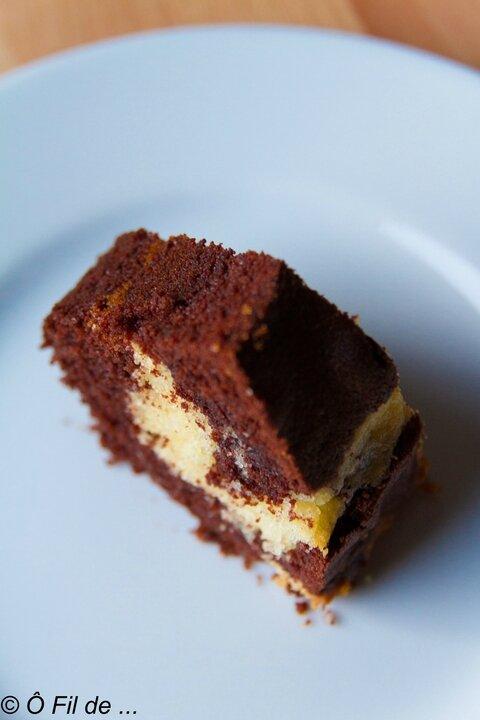 marbré au chocolat 9
