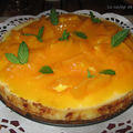 cheesecake tout orange