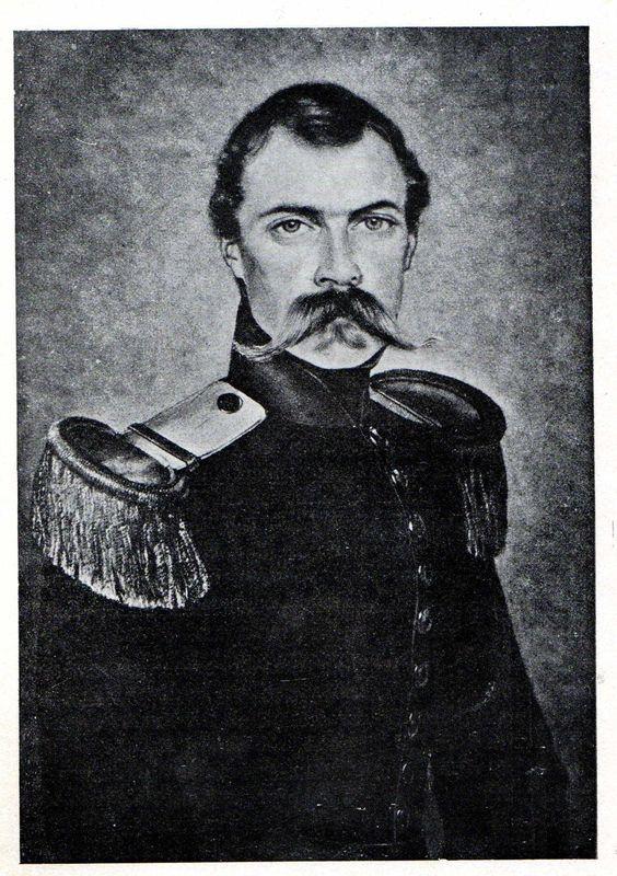 Le lieutenanant-colonel de Montagnac - 8e d'Orléans