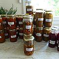 3 septembre - conserves - sauce tomate cuisinée .... concentrée