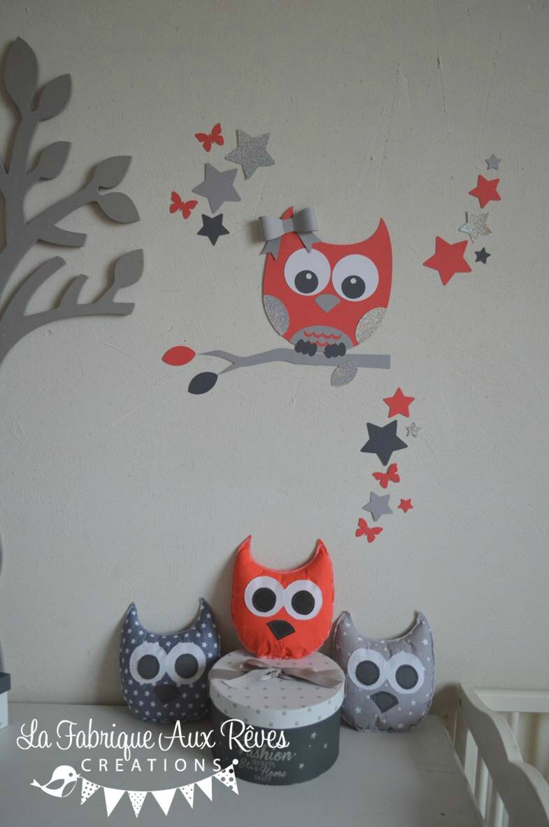 Ikea chambre mammut: pin décoration chambre bébé thème hibou ...