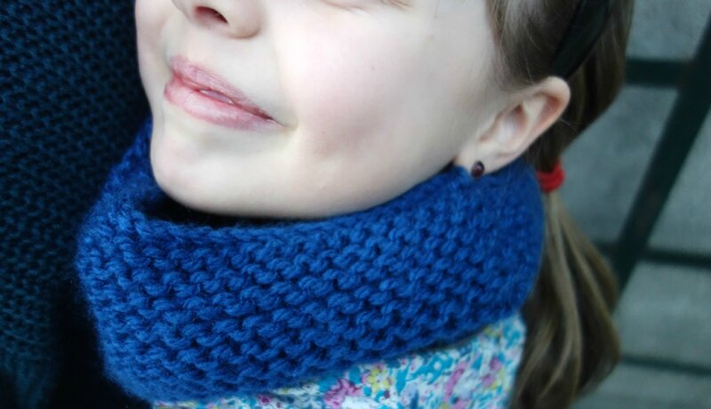 snood bleu 4