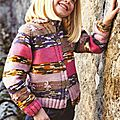 Gilet pour fille en laine katia marathon kids