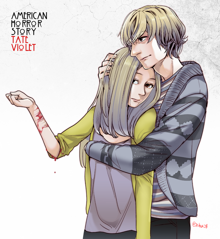 american_horror_story_tate_and_violet__by_yahuxx28-d7x5zht