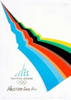 CPM Affiche Turin 2006