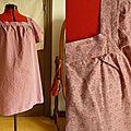 Tunique devenue robe