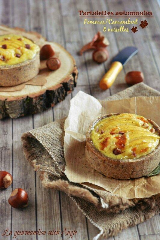 tartelettes pommes noisette camembert 12