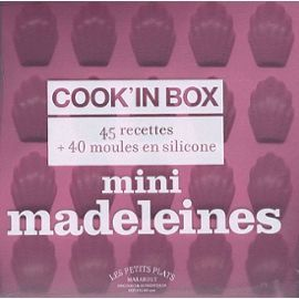 sandra-mahut-mini-madeleines-cook-in-box-45-recettes-40-moules-en-silicone-livre-895867393_ML