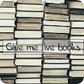 Give me five books # 9