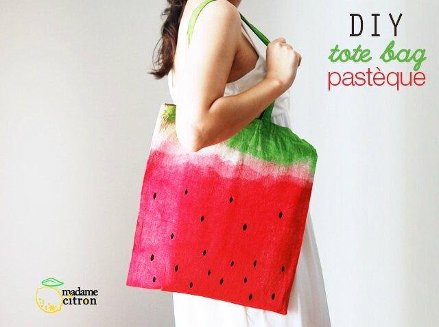 tote-bag-pastèque-bis Madame citron