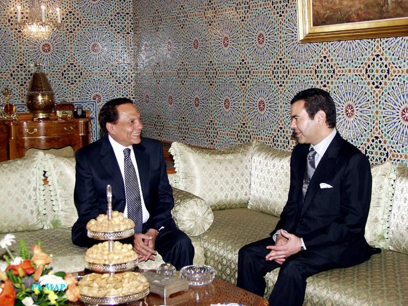 HRH Prince Moulay Rachid received Egyptian actor Adel Imam July 08, 2005 .