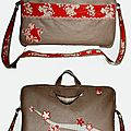 Sac ordinateur portable Sakura
