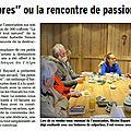On en parle dans la presse : le café littéraire de mars