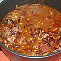 Soutirer à viriginie sa recette de chili con carne !