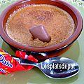 Crème brulée aux daims