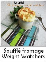 soufflé fromage weight watchers