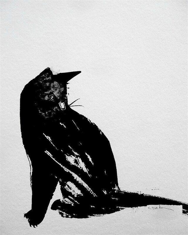 chat encre 2