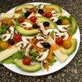 Salade fraicheur harmonieuse
