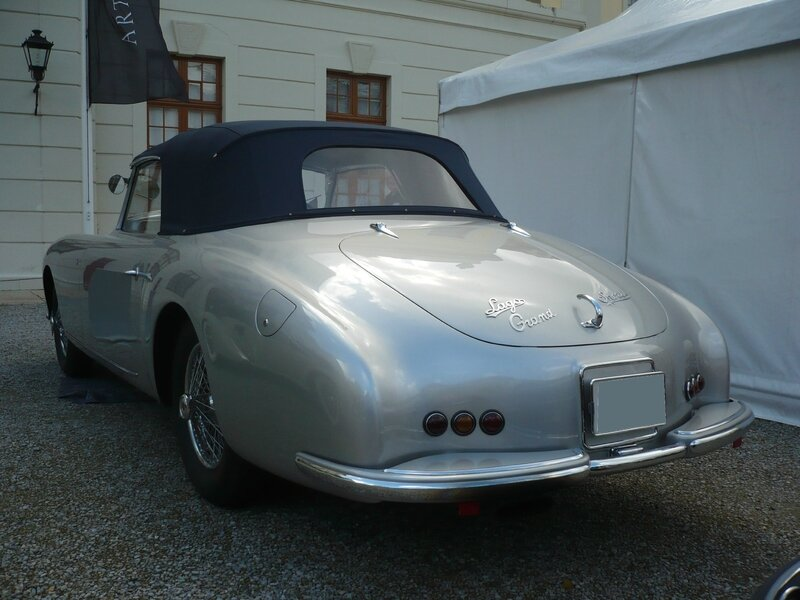 TALBOT LAGO T26 Record Grand Sport cabriolet 1951 Ludwigsburg (2)