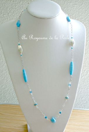 Collier turquoise B
