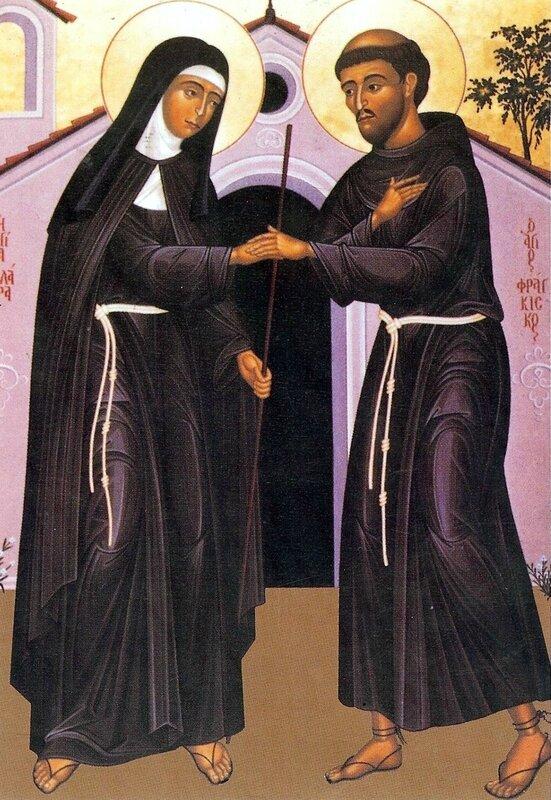 clara y francisco eucaristía