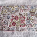 sampler aux bouquets III