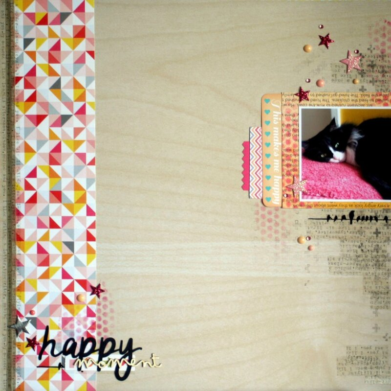 Happy moment_Le scrap de Caro