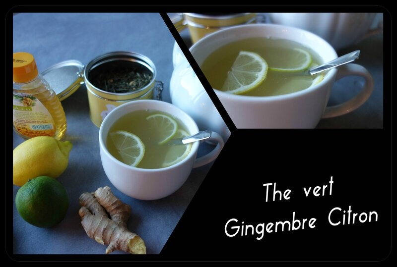 The vert gingembre citron @@