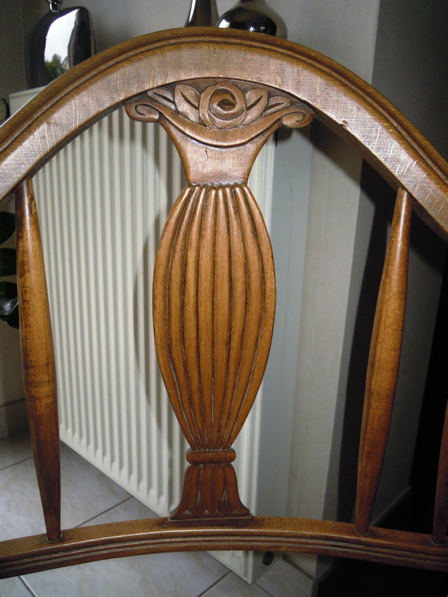 fauteuil art d co stephane poissel tapissier d corateur. Black Bedroom Furniture Sets. Home Design Ideas