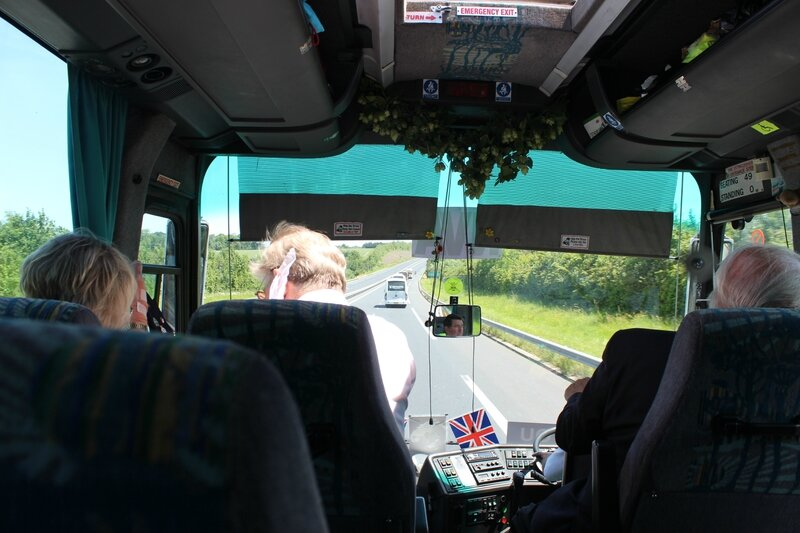 DDay DDay UK veterans coach Essex Ouistreham Bayeux 6th June 2014