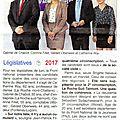 Présentation à la presse de nos 4 candidats aux elections législatives 2017 en vendée