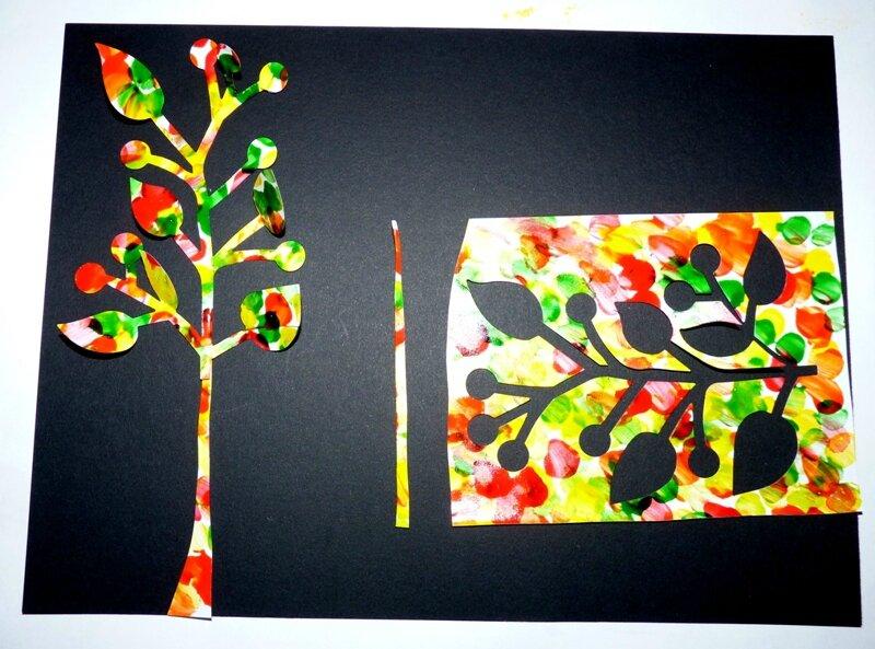 176_Arbres Automne_Trois petits arbres (34)
