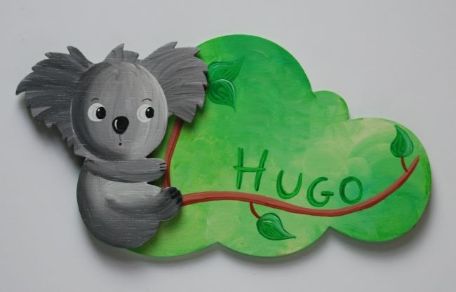 plaque de porte koala 1