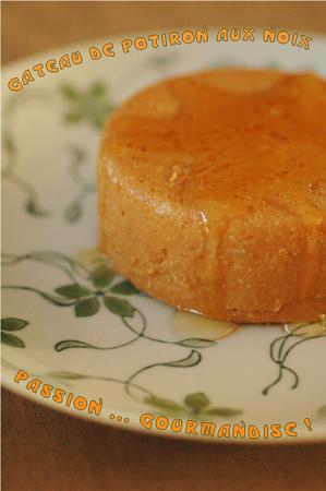 Gâteau de potiron aux noix_1