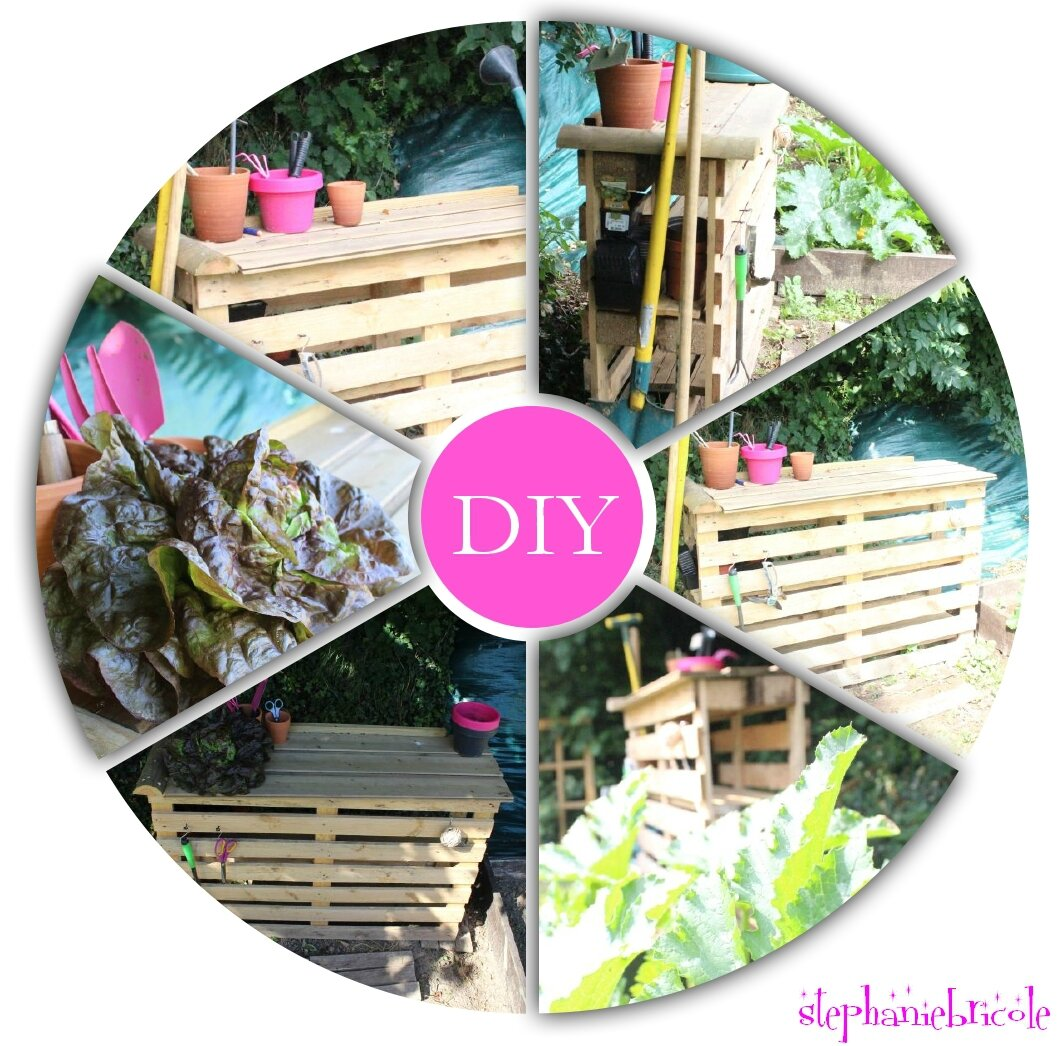 DIY FACILE - une table de rempotage en palette