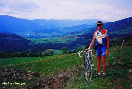 380) vélo vers Bourg Argental (ardeche du Nord)