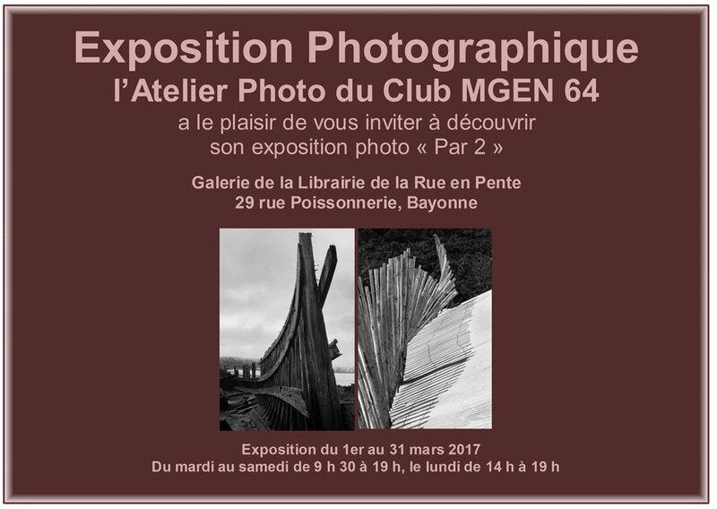 affiche expo atelier MGEN mars 2017