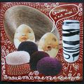 Mail-art pour Mariesel (verso) - 11/2009