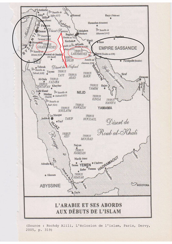 1_carte_Arabie_empires_influences