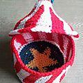 Construction et crochetage d'un chapiteau - étape 3 : test miniature