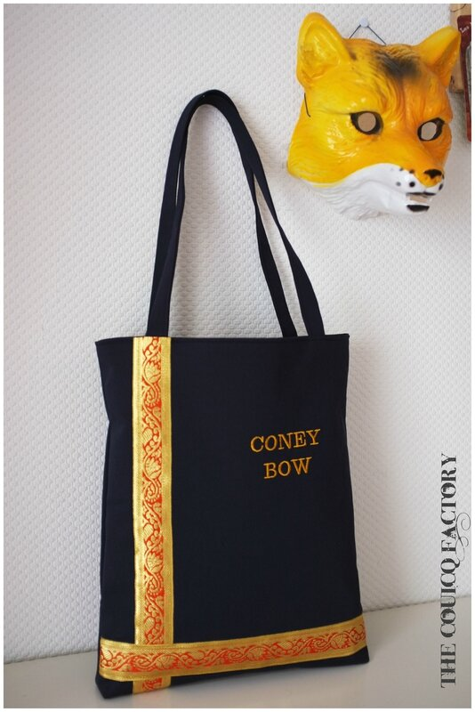 Sac coney bow
