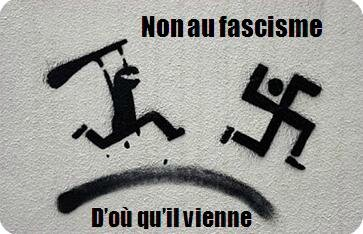 En direct Drouot - Non Non au fascisme