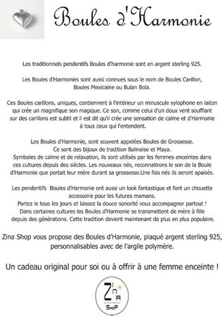 Info boules harmony french