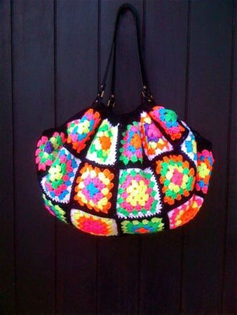 crochet multicolore