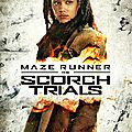The maze runner : the scorch trials - posters des personnages