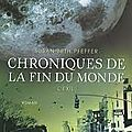 Chroniques de la fin du monde t.2, l'exil / s.b pfeffer / pocket jeunesse / 17.50 euros